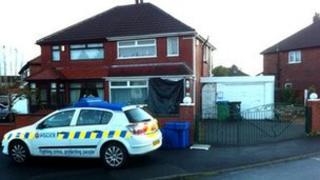 Murder scene Rochdale