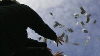 Showering money (file photo)