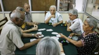 Old people in India