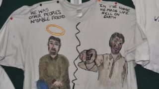 T-shirts at Lighthouse Women's Aid