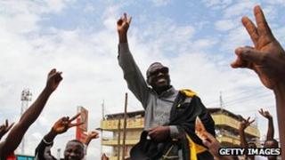 Opposition leader Kizza Besigye
