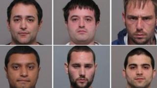 Fake police officer gang