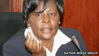 Kenyan Deputy Chief Justice Nancy Baraza