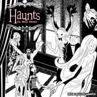 Promotional art work for Haunts