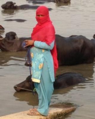 Woman in Dabra