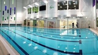 The new swimming pool at Sun Lane