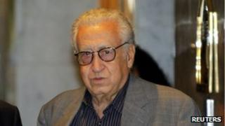 UN and Arab League peace envoy Lakhdar Brahimi