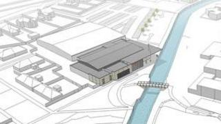 Artist impression of new-look Sleaford Leisure Centre