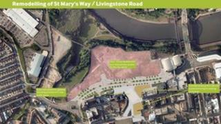 Remodelling of St Mary's Way