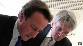 David Cameron and Andrew Mitchell in 2007