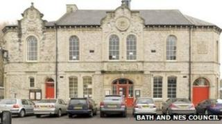 Victoria Hall in Radstock