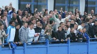 Margate FC fans