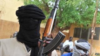 Mujao fighter in Gao, Mali - July 2012