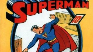 First Superman comic