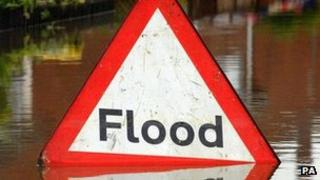 It is hoped the new defences will lower the risk of flooding