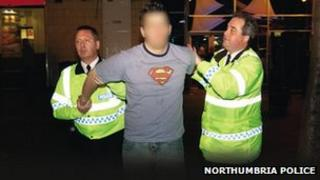 Northumbria Police make an arrest
