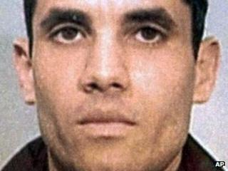 Ahmed Ressam, in an undated police photo provided by Le Journal de Montreal via the Canadian Press
