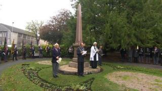 Tirah memorial obelisk in Dorchester