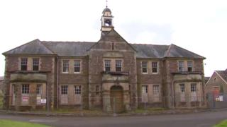 Former Mid Wales Hospital