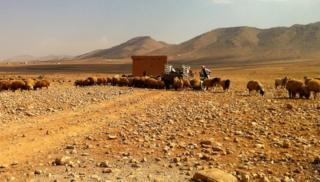 Border between Lebanon and Syria