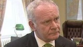 Sinn Fein's Martin McGuinness