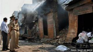 Faizabad after the violence