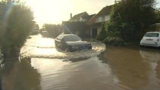 Wendlebury flooding