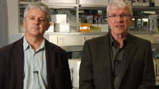 Profs Mike Owen and Mick Donovan