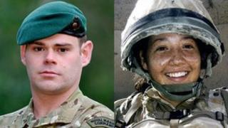 Cpl David O'Connor, Cpl Channing Day
