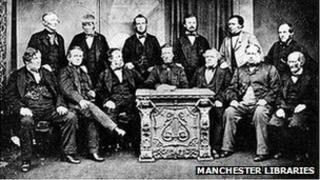 Rochdale Pioneers in 1865