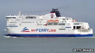 MyFerryLink ship