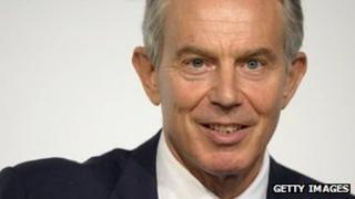 Tony Blair, speaking in Mexico last month