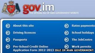 The new Isle of Man Government website
