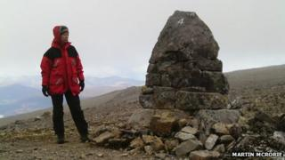 Number 4 Gully cairn