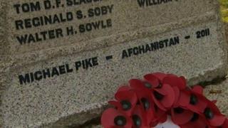 Okehampton war memorial