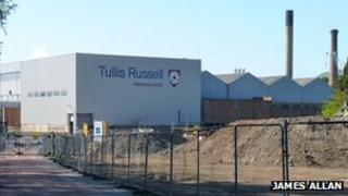 Tullis Russell paper mill, Markinch