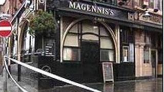Mr McCartney was stabbed outside Magennis's bar in Belfast