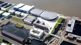 CGI of Exhibition Centre Liverpool