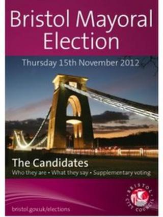 Bristol mayor election booklet