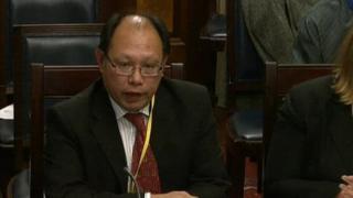 Ethnic Minorities Council director Patrick Yu