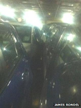 Cars on Condor