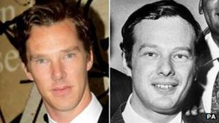 Benedict Cumberbatch and Brian Epstein