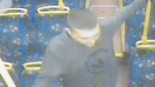 Attacker on bus