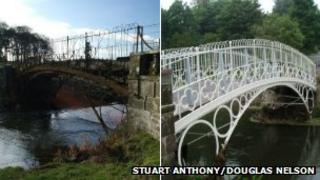 Linlathen East Iron Bridge