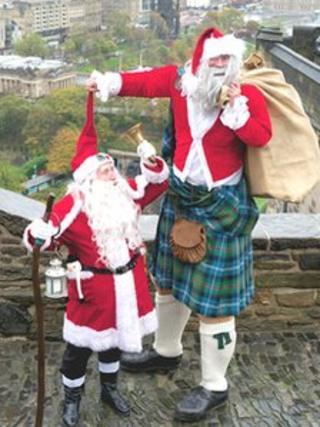 Kilted Santa Pic: Tony Marsh