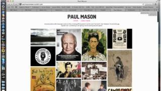 Paul Mason Tumblr page