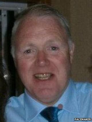 Prison officer David Black