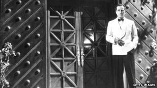 Humphrey Bogart as Rick