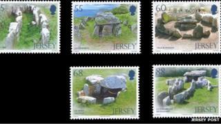 Dolmen stamps