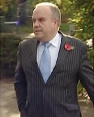 Brian Coleman arrives at court on 5 November 2012